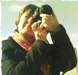 Françoise photographiant